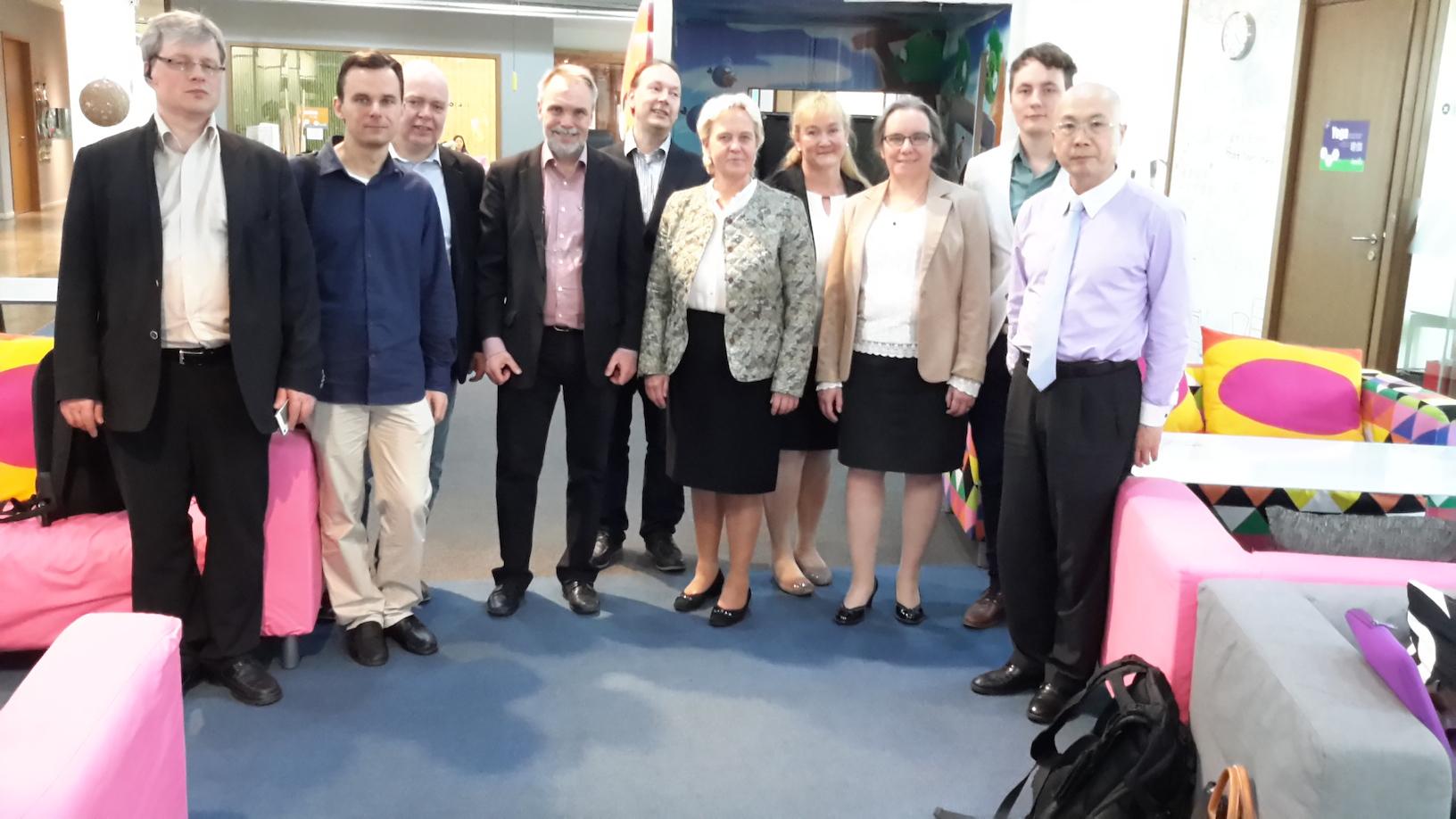 China - Finland Strategic ICT Alliance International Workshop in Shanghai, April 2015
