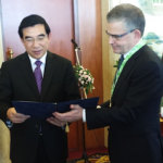 Jani-Kaarlejärvi-joined-meeting-of-Mayor-of-Beijing-and-Mayor-of-Helsinki-(Mr.-Jussi-Pajunen)-in-Beijing,-November-2014